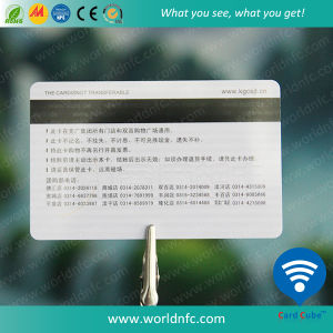Hot Sale Hi Co Magnetic Stripe PVC Membership Card pictures & photos