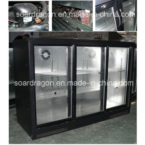 Desktop Mini Bar Refrigerator Wgl-298sf with Lock pictures & photos