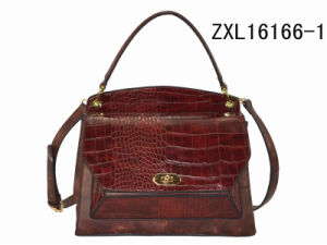 Eco-Friendly High Quality PU Leather Tote Cooler Insulated Bag (ZXL1616-1) pictures & photos