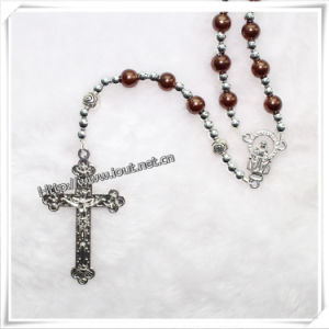 Glass Beads Rosary, Catholic Knoted Glass Rosary (IO-cr061) pictures & photos