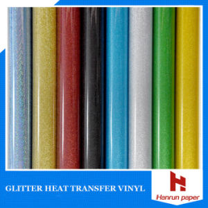 Self-Adhesive Reflective Glitter Heat Transfer Vinyl for T Shirt pictures & photos