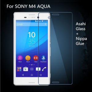 Ultra Thin 2.5D Round Edge High Quality Tempered Glass Screen Protector for Sony M4 Aqua pictures & photos