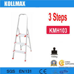 3 Steps Aluminum Household Ladder pictures & photos
