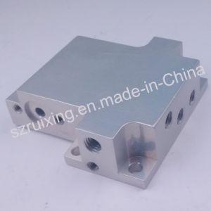 China Supply Block Valve CNC Machining of Aluminum Anodized pictures & photos
