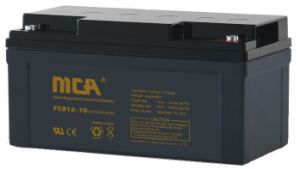 12V 70ah Deep Cycle Maintenance Free Lead Battery pictures & photos