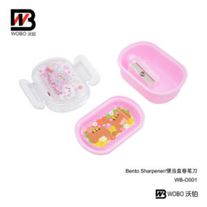 Office Stationery Color Cartoon Plastic Pencil Sharpener pictures & photos