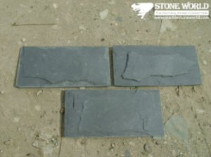 Black Slate Tiles for Wall/Flooring (mm099) pictures & photos