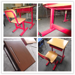 Classroom Single Student Molded School Desk and Chair pictures & photos
