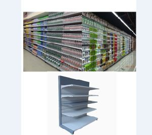 Single-Sided Supermarket Shelf & Store Display Shelf pictures & photos