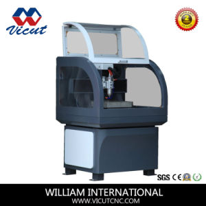 Mini Stainless Steel Mini CNC Engraving Machine (VCT-4540C) pictures & photos