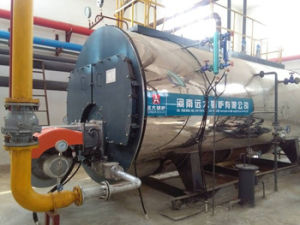 1ton 13bar Dissel Oil Heavy Oil Fired Steam Boiler Hot Water Boiler pictures & photos