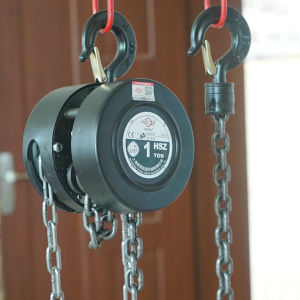 Hand Pull Chain Block Chain Hoist with G80 Chain pictures & photos