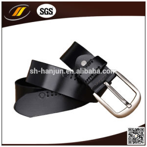 Genuine Leather Belt Fashion Men Belt with Pin Buckle (HJ3001)