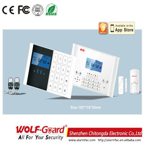 M2c Wireless Home Security GSM Alarm System Support Mobile APP pictures & photos