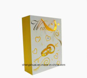 Paper Bag with Handle Shopping Bag Aluminized