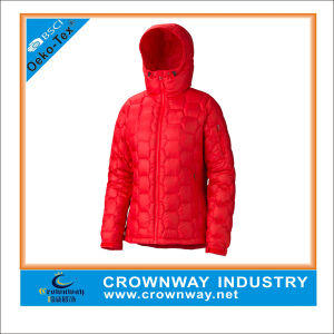 Women Long Duck Down Jacket Winter Coat pictures & photos