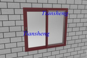 Energy Saving Double Glazing Aluminum Window pictures & photos