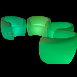 Lighted up Armchairs for Hotel Rooms with LED Lights pictures & photos