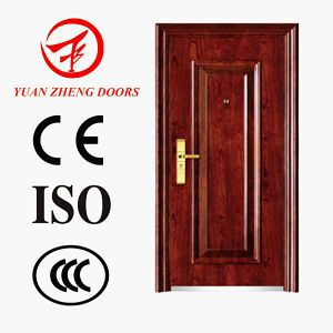 China Manufacturer Exterior Position Security Door with Good Price pictures & photos