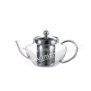 Borosilicate Glass Coffee Maker Teapot with Lid Infuser pictures & photos