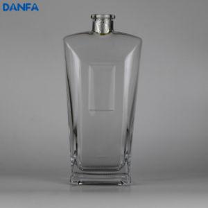 500ml Extra White Glass Thick Bottom Whiskey Bottle (DVB108)