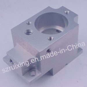 Custom Made CNC Machining Part for Aluminum Block with Anodizing Treatment pictures & photos