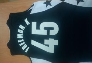 Hot Fix Motif Sports Number Transfer for Jersey
