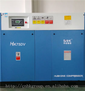75kw 100HP Industrial Screw Air Compressor with CE ISO pictures & photos