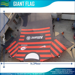 15 Meter Long Custom Advertising Super Giant Flag (M-NF11F06001) pictures & photos