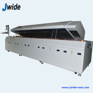 Jw-800A 8 Zone Reflow Oven for PCB Assembly Line pictures & photos