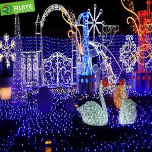 Hot Sale White Color 10m Rubber Decoration Christmas pictures & photos