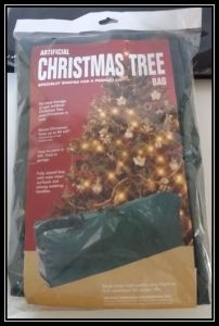 PE Material Christmas Tree Packing Bag pictures & photos