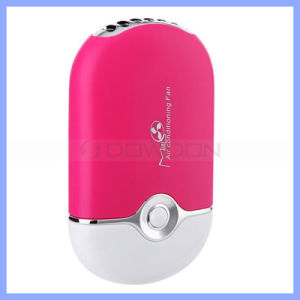 Portable Mini Handheld Summer Cooling Fan with Easy Carry Belt Support OEM pictures & photos