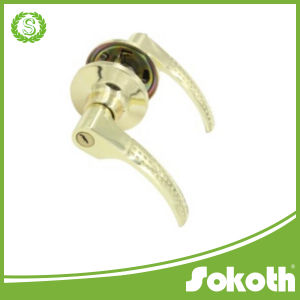 Top Quality Stainless Steel Tube Door Handle Tubular Lever Lock pictures & photos