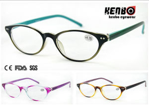 Hot Sale Fashion Reading Glasses with Nice Color for Lady, CE, FDA, Kr5112 pictures & photos
