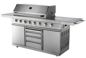 Full Stainless Steel Gas BBQ Grill with Aga for Australia pictures & photos