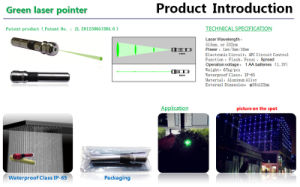 Danpon Green Laser Pointer Super Bright pictures & photos