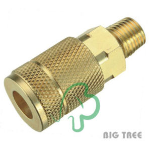 Automotive Typen Air Quick Fitting Coupling U02-Sm2, Brass Male NPT Thread pictures & photos