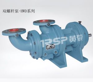 Sanitary Twin Screw Pump with Stainless Steel Material pictures & photos