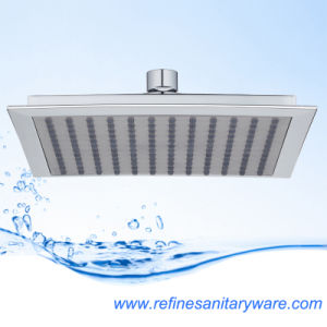 Chinese Supplier of ABS Plastic Square Top Shower Head (RN117N)