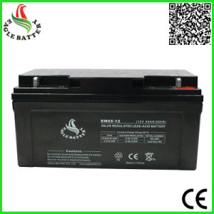 12V 65ah VRLA Storage Battery for UPS pictures & photos
