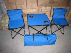 2persons Folding Camping Chair and Desk for Fishing, Beach pictures & photos