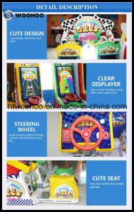 Coin Operated Machine Kids Racing Car Video Game Machine Simulator pictures & photos