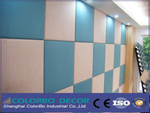 Soundproof Interior Decorative Fabric Acoustic Wall Panels pictures & photos