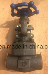 Screw End Forged Steel Gate Valve pictures & photos