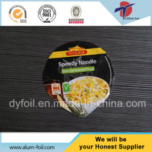 Aluminum Easy Open Lids for Noodles pictures & photos