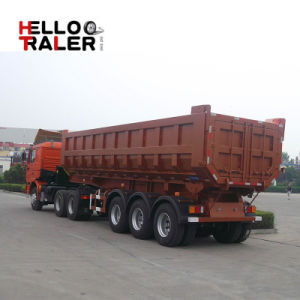 Factory Supply 65 Ton Tipper Semi Trailer for Sale pictures & photos