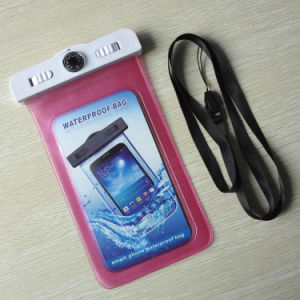 100% Sealed Smart Phone PVC Waterproof Bag with Thermometer (YKY7265) pictures & photos