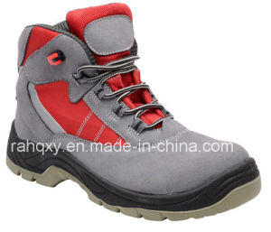 Professional Grey Suede Upper Safety Shoe (HQ05019) pictures & photos