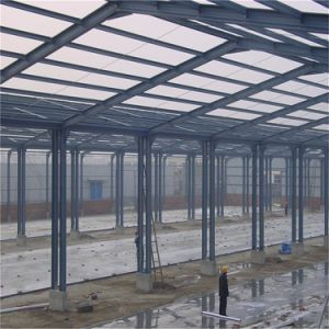 Flexible Design Prefabricated Steel Structure Frame Workshop pictures & photos